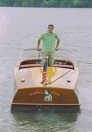 Wooden Boat Restorer Chris Craft